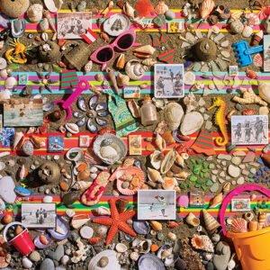 Beach Scene 1000 Piece Puzzle - Cobble Hill