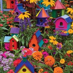 Birdhouses 275 XL Piece Puzzle - Cobble Hill