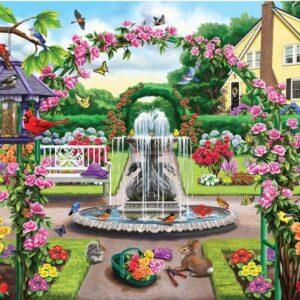 Birdsong 2 - Enter the Rose Garden 1000 Piece Puzzle - Holdson