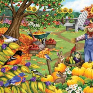 Birdsong 2 - Fall Clean up 1000 Piece Puzzle - Holdson