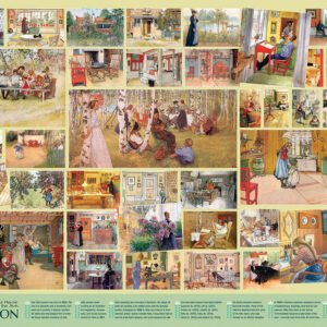 Carl Larrson 1000 Piece Puzzle