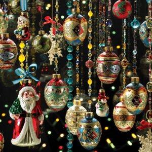 Christmas Ornaments 1000 Piece Puzzle