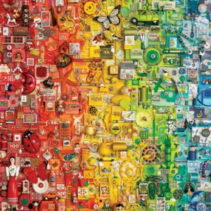 Colourful Rainbow 1000 Piece Puzzle