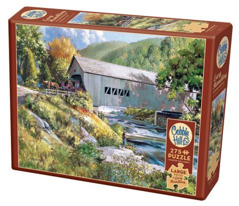 Covered Bridge 250 XL Piece Puzzle - Cobble Hill