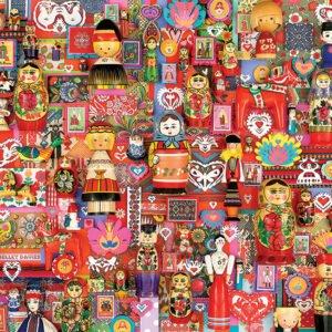 Dollies 1000 Piece Puzzle - Cobble Hill