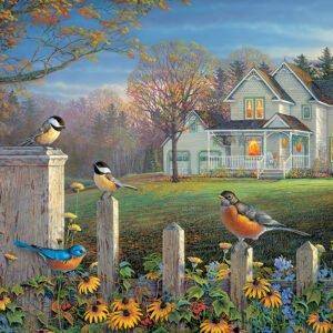 Evening Birds 1000 Piece Puzzle - Cobble Hill