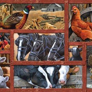 Farmyard Friends 275 Large Piece Puzzle