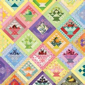 Fruit Basket Quilt 1000 Piece Puzzle - Cobble Hill