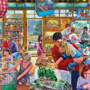 Furry Friends 500 XL Piece Puzzle - Gibsons