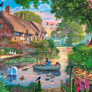 Golden Hour 1000 Piece Puzzle - Gibsons