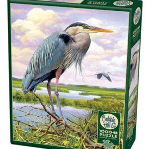 Heron 1000 Piece Puzzle - Cobble Hill