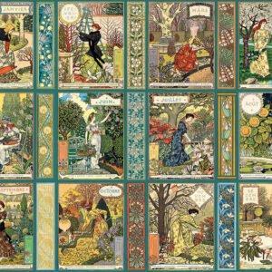 Jardiniere A Gardener's Calendar 1000 Piece Puzzle - Cobble Hill