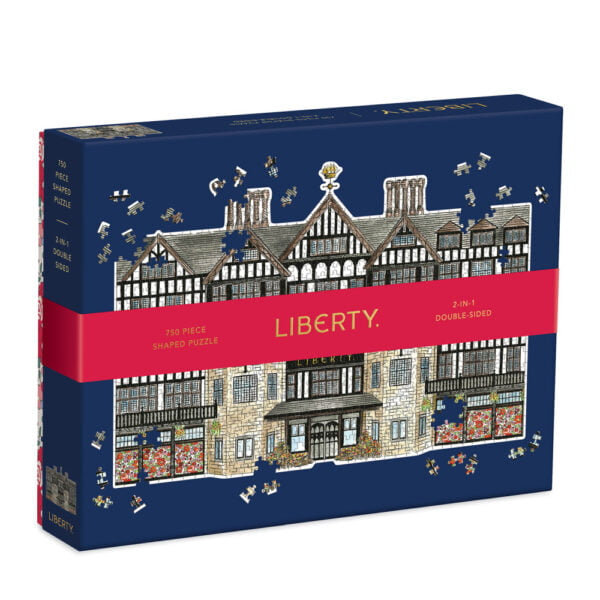 Liberty London Tudor 750 Piece 2-in-1 double sided Shaped Puzzle