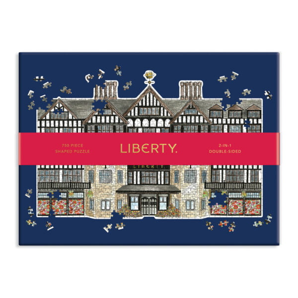 Liberty London Tudor 750 Piece 2-in1 Double Sided Shaped Puzzle