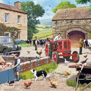 Life on the Farm 1000 Piece Puzzle - Gibsons