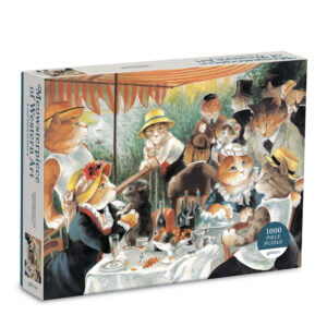 Lunchoen of the Boating Party 1000 Piece Puzzle