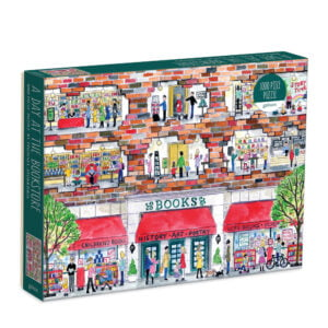 Michael Storrings - A Day at the Bookstore 1000 piece Puzzle