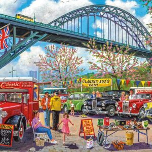 Newcastle 1000 Piece Puzzle - Gibsons