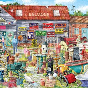 Pots & Penny Farthings 1000 Piece Puzzle - Gibsons