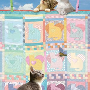 Quilted Kittens 500 Piece Puzzle - Cobble Hill