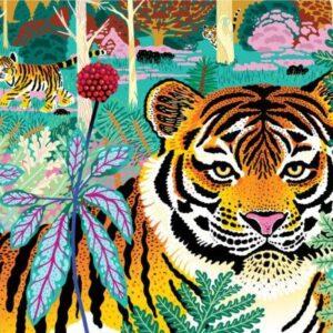 Siberian Tiger 300 Piece Puzzle - Mudpuppy