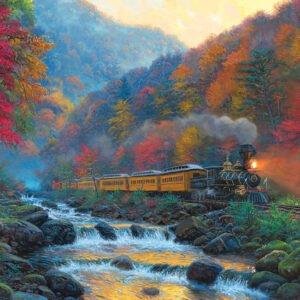 Smokey Train 1000 Piece Puzzle - Cobble Hill
