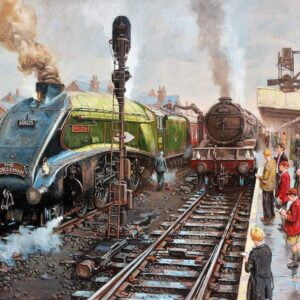 Spotters at doncaster 1000 Piece Puzzle - Gibsons
