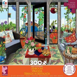 Sunroom Veranda 300 Piece Puzzle - Ceaco