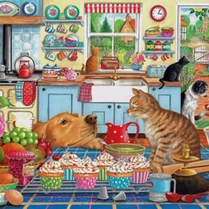 Tempting Treats 1000 Piece Puzzle - Gibsons