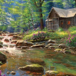 The Fishing Cabin 1000 Piece Puzzle