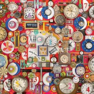Timepieces 1000 Piece Puzzle