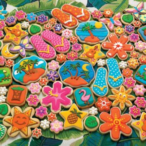 Tropical Cookies 1000 Piece Puzzle - Cobble Hill