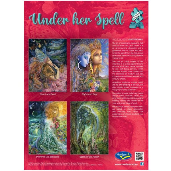 Under Her Spell - Hear & Soul 1000 Piece Puzzle - Holdson