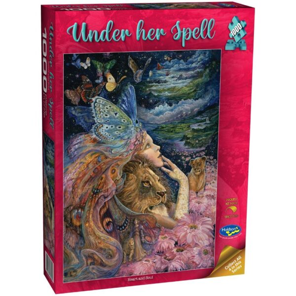 Under Her Spell - Heart & Soul 1000 Piece Puzzle - Holdson