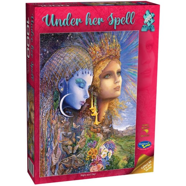 Under Her Spell - Night & Day 1000 Piece Puzzle - Holdson