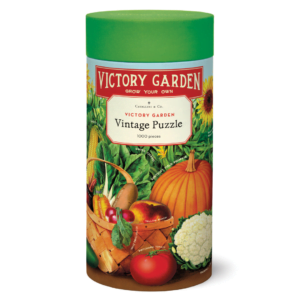Vintage Puzzle - Victory Garden 1000 Piece - Cavallini & Co