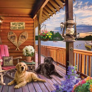 Welcome to the lake House 1000 Piece Puzzle