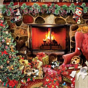 Christmas Mayhem 1000 Piece Puzzle - Sunsout