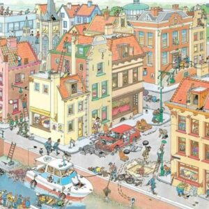 Jan Van Haasteran - the Missing Piece 1000 Piece Puzzle - Jumbo