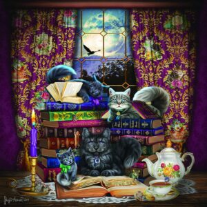 Storytime Cats 500 Piece Puzzle - Sunsout