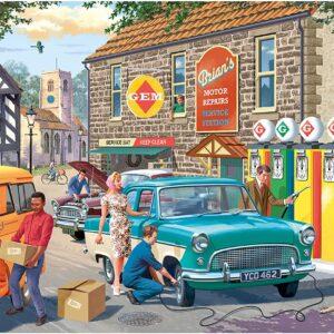 The Petrol Station 1000 Piece Puzzle - Falcon de luxe