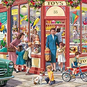 The Toy Shop 1000 Piece Puzzle - Falcon de luxe