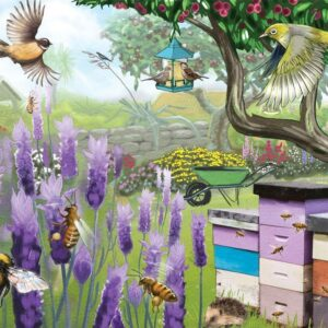 Treasures of Aotearoa - Busy Bees 300 XL Piece Puzzle - Holdson
