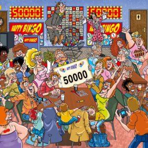 Wasgij Myster 19 Bingo Blunder 1000 Piece Puzzle - Holdson