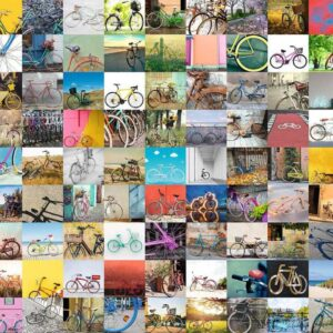 99 Bicycles and more 1500 Piece Puzzle - Ravensburger