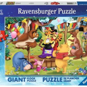 Disney Winnie The Pooh Magic show 60 Piece Giant Floor Puzzle - Ravensburger