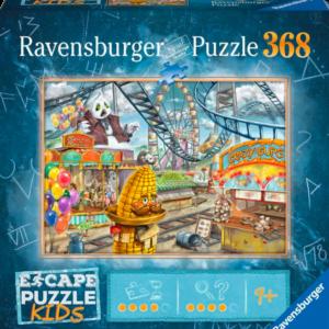 Escape - Amusement Park Plight Park 368 Piece Puzzle - Ravensburger