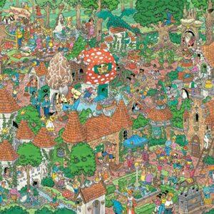 JVH Fairytale Forest 1000 Piece Puzzle - Jumbo