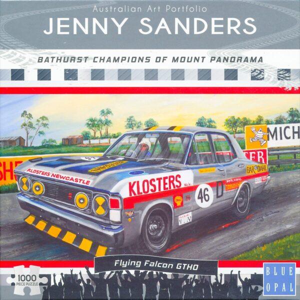 Jenny Sanders - Flying Falcon 1000 Piece Puzzle - Blue Opal