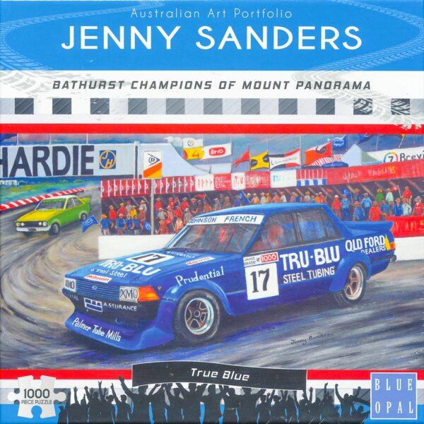 Jenny Sanders - Tru Blu 1000 Piece Puzzle - Blue Opal